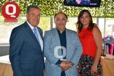 SALUDANDOSE Miguel Márquez Márquez, Jorge Trejo y Elizabeth Casamadrid