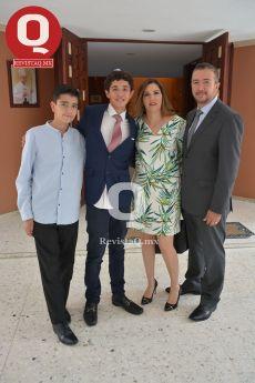 Óscar Romo, Marcelo Aguirre, Tere Guzmán y José Romo