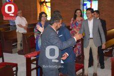 Gerardo Aguirre y Marcelo Aguirre dándose un abrazo