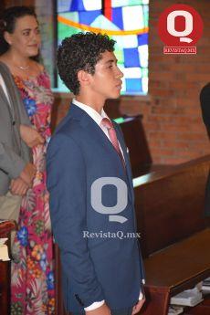 Marcelo Aguirre durante la ceremonia