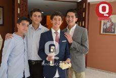 Mario Escobar, Emiliano Márquez, Marcelo Aguirre y Macelo Reynoso