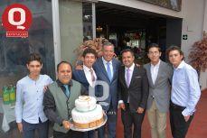 Mario Escobar, Marcelo Aguirre, Miguel Márquez, Alan Aguirre, Marcelo Aguirre, Marcelo aguirre y Emiliano Márquez