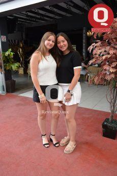 Paola Balderas con Danna Aguirre
