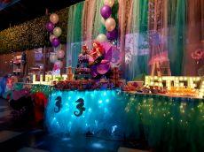 El Candy Bar lucio hermoso en la fiesta de Lucerito en Q Capital