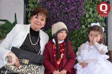 Elia Pérez, Ángela López y Lucero Estefanía