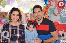 Gaby Loza, Idalia Alanis y David loza