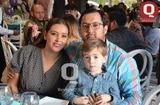 Gisela Romo, Pepe Campos y José Antonio Campos