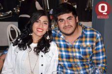 Michelle Medina y David Orozco