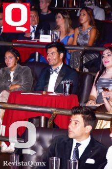 Andrés Palacios disfrutando de la 10a edición de los Premios Q