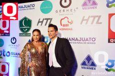 Los actores cubanos Liz Vega y Julio Camejo
