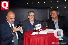 Mesa de comediantes, Juan Carlos Casasola, Tony Balardi y Jo jo Jorge Falcón