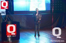 Paul Stanley agradeció el galardón que le otorgó Revista Q
