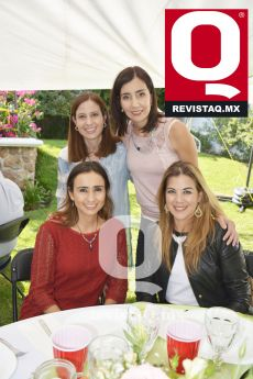 Daniela Torres Neri, Paty Aranda, Jenny Huerta y Letty Sánchez