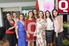 Karla Pietrasanta, Lorena Peña, Anita Carranza y Alexandra Rábago