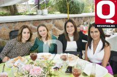 Mónica Alba, Claudia Vázquez, Miriam Hernández y Paulina Rojas