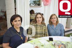 Maru González, Sandra Moncayo y Lucero Arroyo