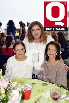 Mede Hecksher, Dolores Díaz Infante y Maguita de Torres