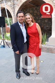 Beto Ruenes y Maggy Nasser