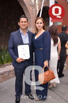 Diego Sinhué y Adriana Ramírez