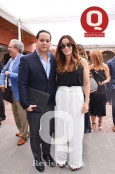 Librado Padilla y Daniela Cortés