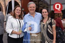 María Amparo González, Luis Rodríguez y Glafira Sepúlveda