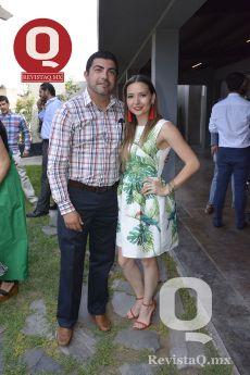 Alejandro Escamilla y Angie Pérez