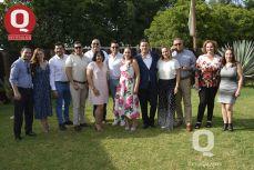 Familiares y amigos acompañaron a Gerardo Morales y Lulú Reyes