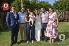 Gerardo Contreras, Víctor Rodríguez, Patricia Cadena, Ana Contreras, Daniel Villaseñor y Lulú Reyes