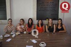 Ale Ayala, Adriana Méndez, Evelyn Quiroz, Gaby Durán, Erika Arrollo y Diva Cabrera