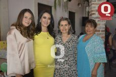 Marisol Padilla, Estefanía Rocha, Margarita Camacho y Ana María Aguilar