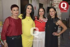 Martha Osorio, Estefanía Rocha, Magali Rocha y Andrea Rocha