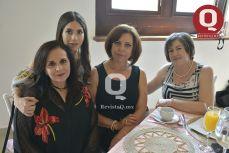 Andrea Jiménez, Bianca Castro, Mari Carmen Fuentes y Mari Chuy Franco.