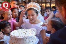 Antes de morder el pastel, Valentina Espinosa