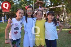 María Paula González, Regina Barrera, María José Zárate y Paloma Márquez