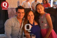 Nazareth Duarte, Nayeli Alfaro y Dana Durán