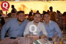 Philippe Defayes, Fito Padilla y Diego Espinosa