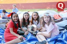 Ximena Pérez, Romina Santibáñez, Natalia Mendoza y Ana Sofía Rodríguez