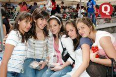 Diana Jaime, Natalia Felix, Regina Arroyo, Carla Sierra y Lili Muciño