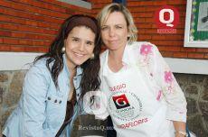 Tere Osejo y Julia Gabriel de Orozco