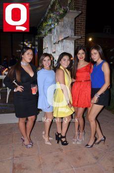 Majo Alonso, Fernanda Espinoza, Ivanna Espinoza, Karen Torres y Montse Chávez