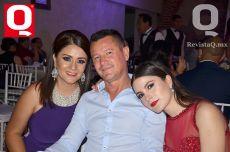 Rosa María Gutiérrez, Javier Moreno y Fernanda Moreno