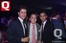 Eugenio Lara, Marcelo Fernández y Luis Ruvalcaba