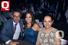 Joss Aguilar, Gabriela Andrade y Guadalupe Aguilar