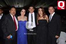 Juan Antonio López, Ana Ramírez, Antonio López, Cony López y Juan Carlos López
