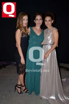 María Cristina Aguilar, María Cristina Fernández y Lucía Aguilar