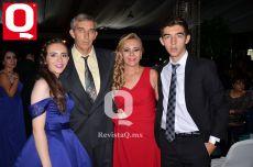 María José Collado, José Antonio Collado, Lorena de Collado y Antonio Collado