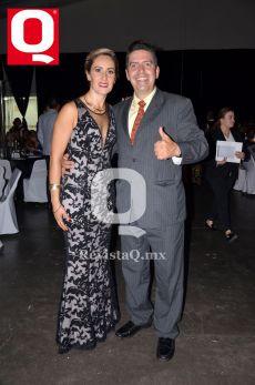 Miriam González y Ricardo Pérez