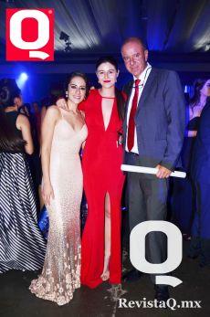 Samantha Espinosa, Sofía Lozano y Javier Lozano