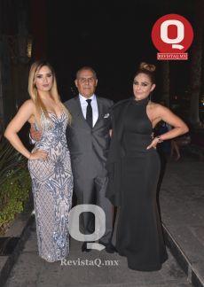 Claudia Córdova, Raúl Molano y Karen Molano