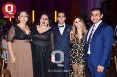 Marcela Urquijo, Mariana Ávalos, Alejandro Molano, Sofía Gutiérrez y José Martínez